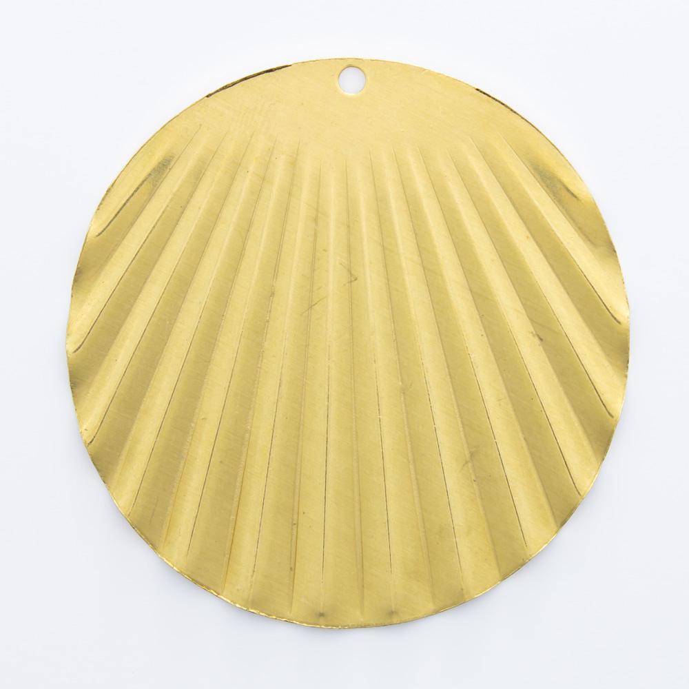 Redondo ondulado com furo 37,70mmx37,33mm