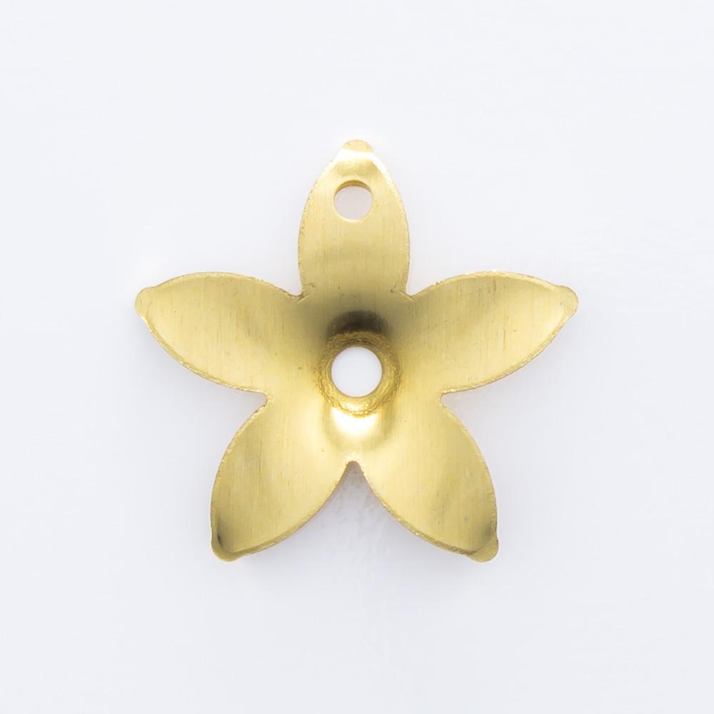 Flor vazada com furo 12,58mmx13,20mm
