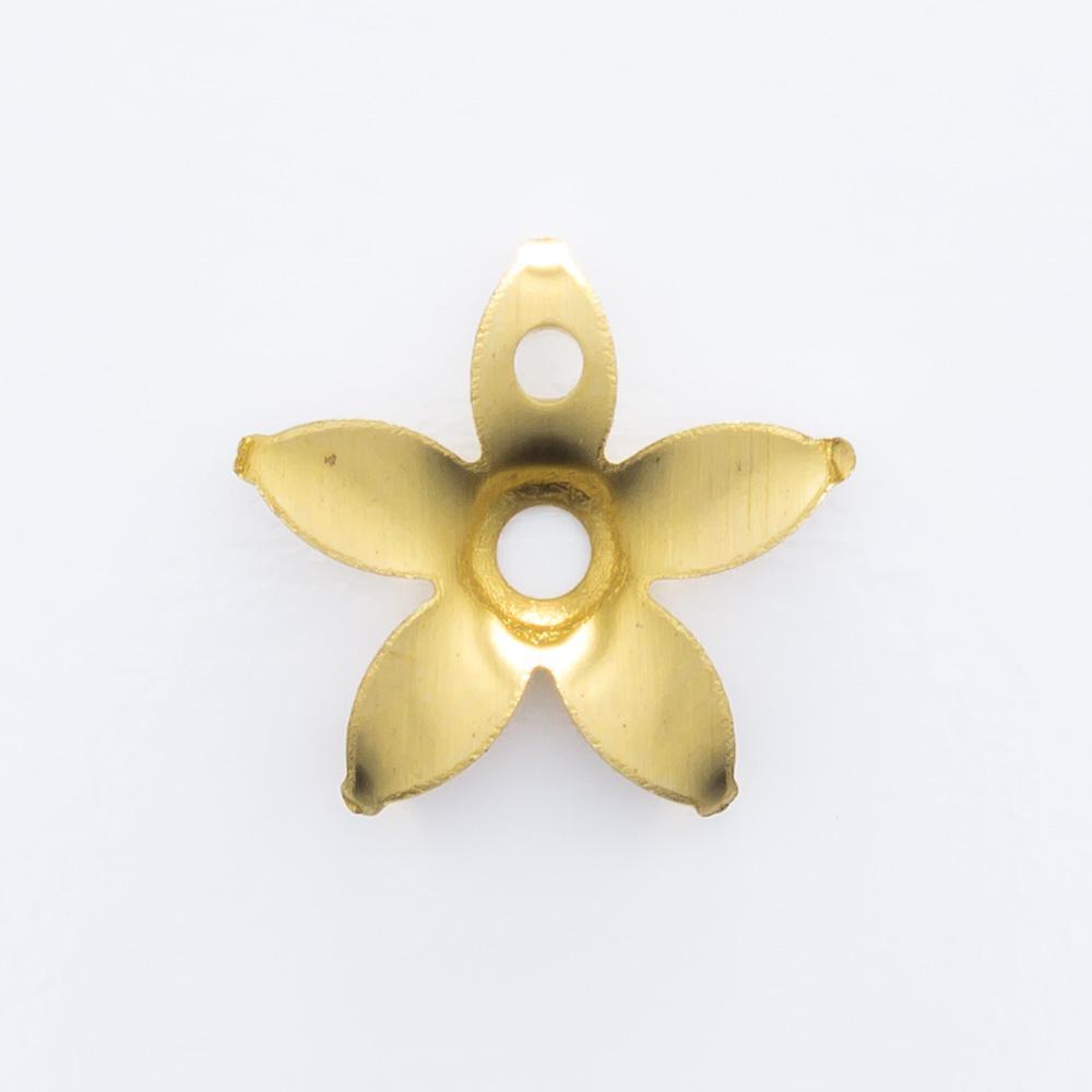 Flor vazada com furo 9,60mmx10,20mm