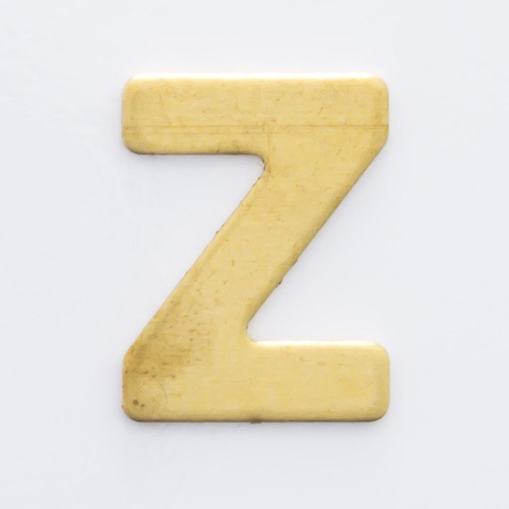 "Letra ""Z"" sem furo 8,84mmx6,79mm"