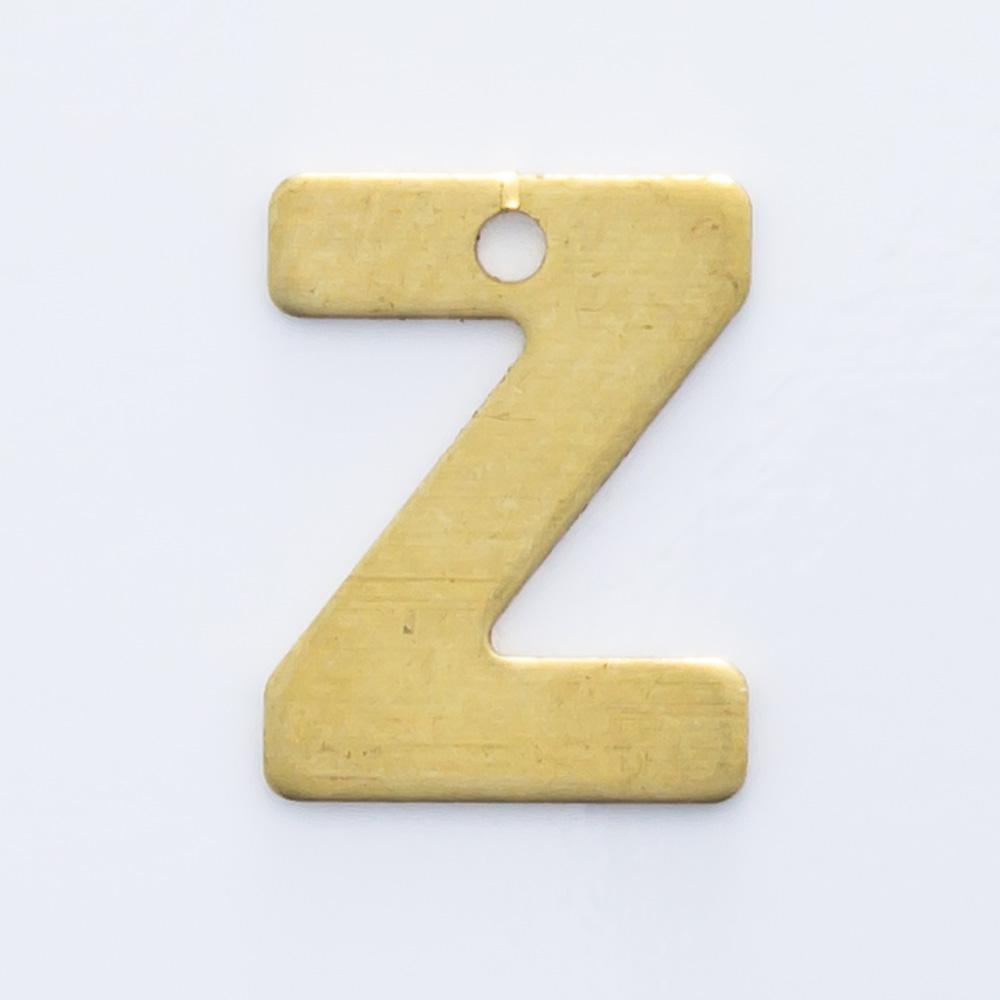 """Letra """"Z"""" com furo 8,84mmx6,79mm"""
