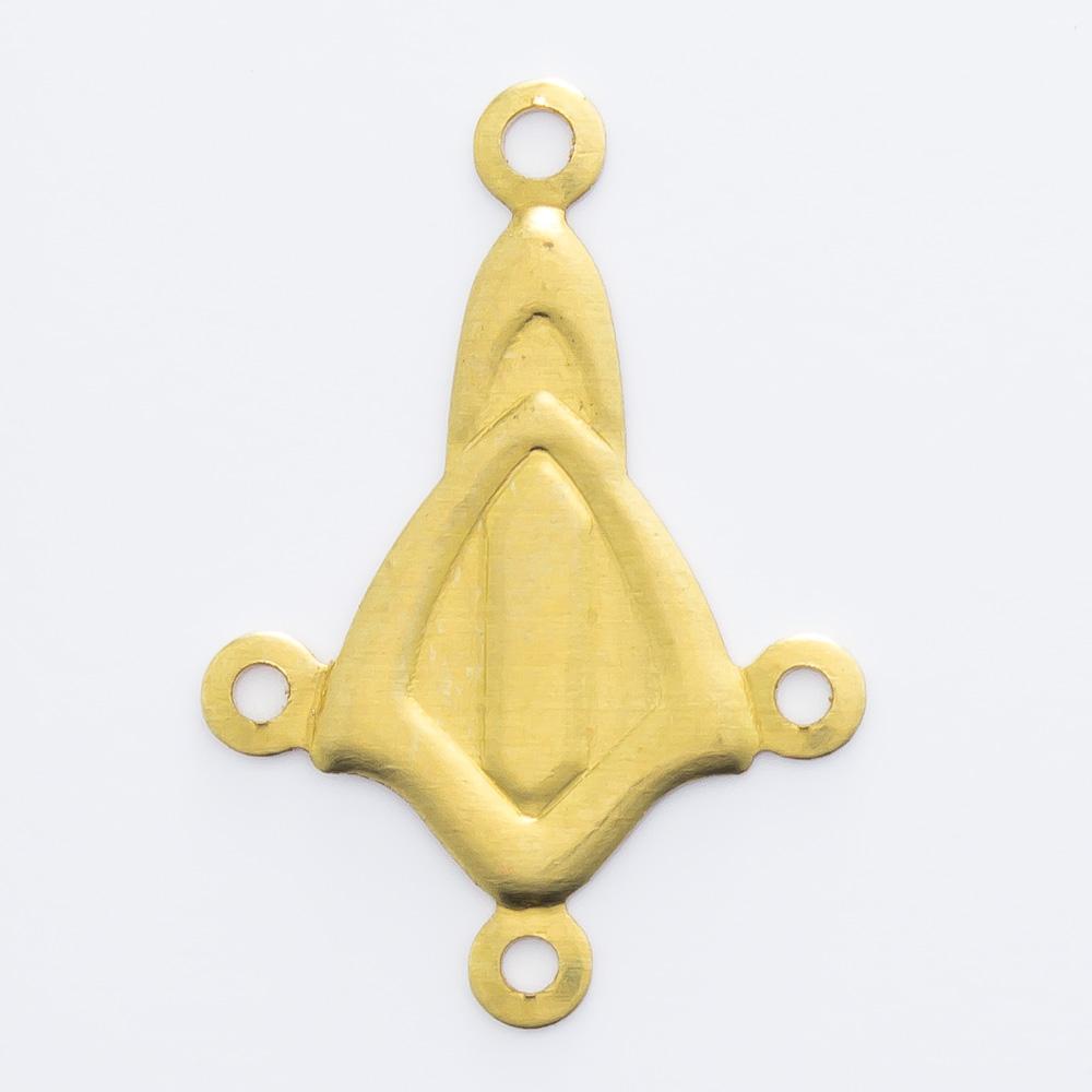 Figura com 4 argolinhas 20,00mmx14,00mm