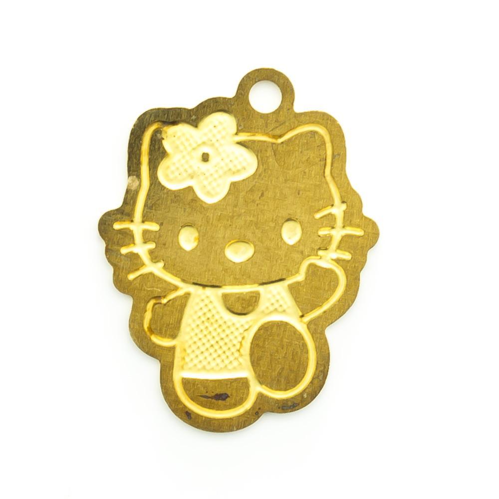 Pingente Hello Kitty 15,70mmx12,14mm