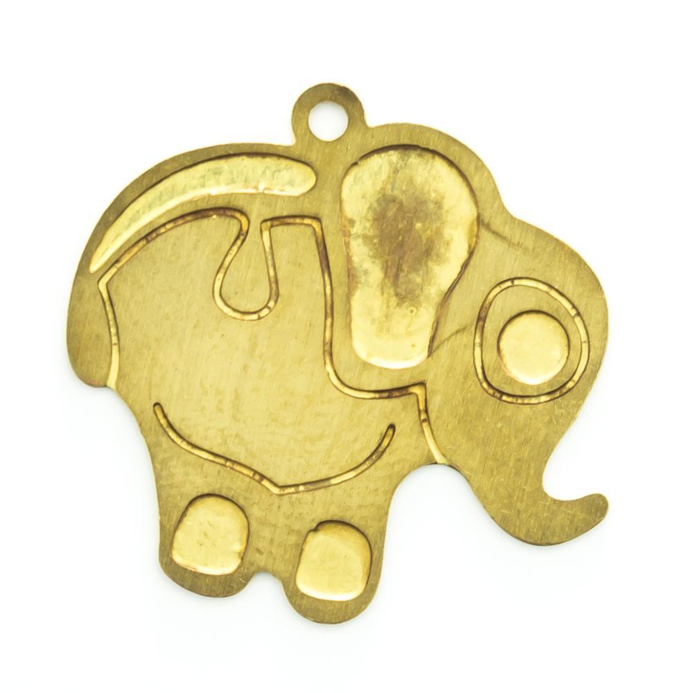Pingente Elefante 18,34mmx19,94mm
