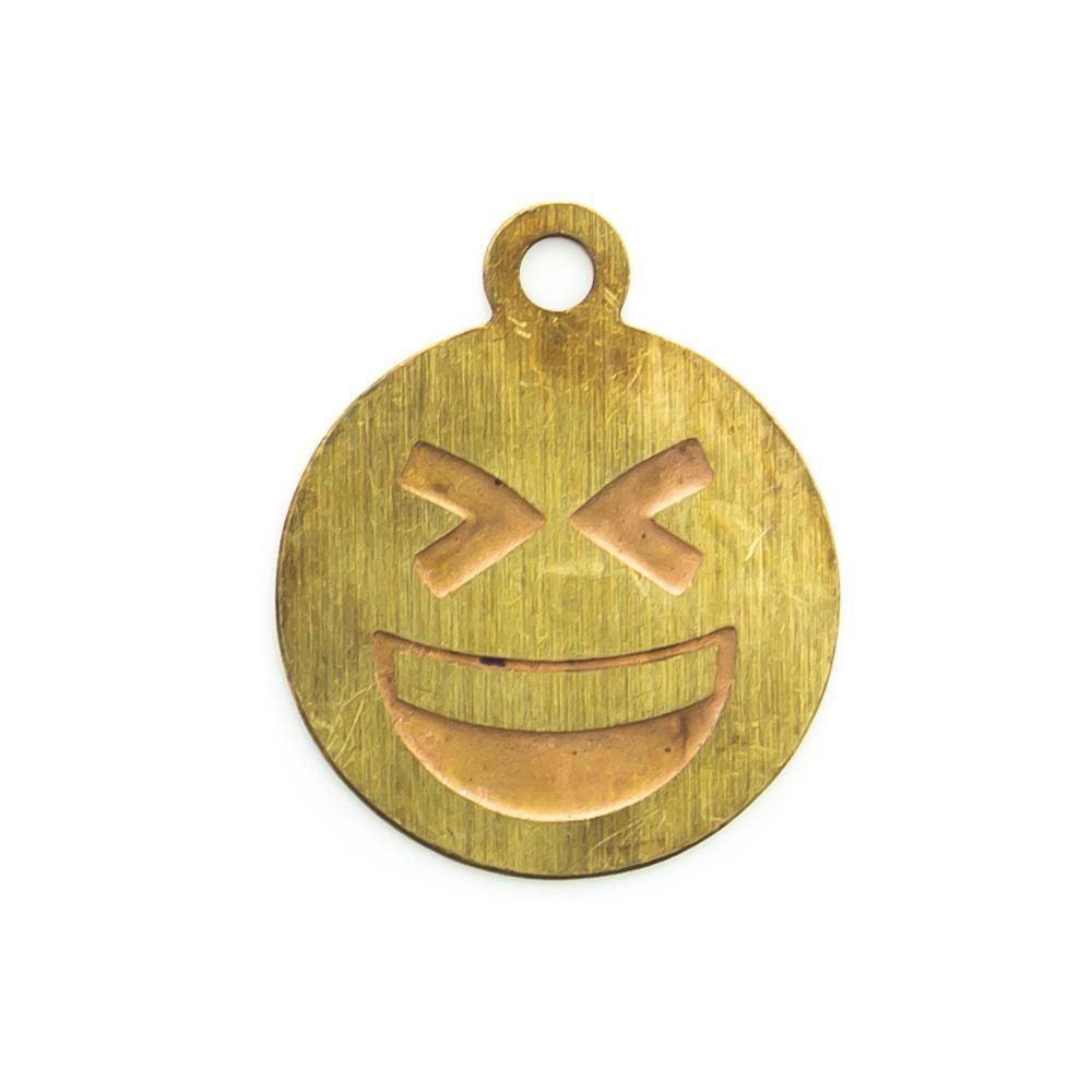 Pingente Emoji Rindo 12,87mmx10,74mm